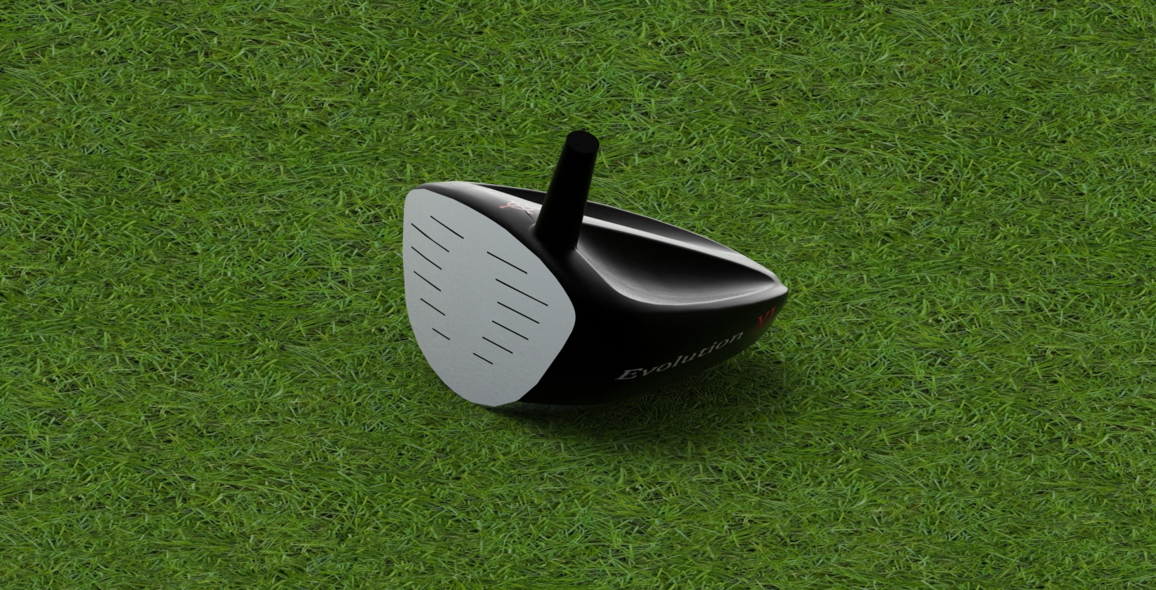 Golf Club Head Reverse Engineered using SolidWorks Surfacing